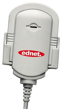 Ednet Mikrofon, Clip pro upevnění na košili nebo monitoru.