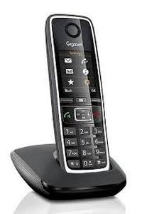 SIEMENS Gigaset C530 - DECT/GAP bezdrátový telefon, černý