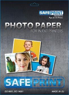 Fotopapír SAFEPRINT pro ink tiskárny LESKLÝ, 260 g, A6, 20 sheets