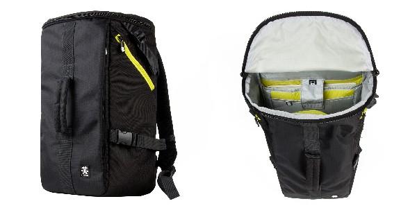 Crumpler Track Jack Barrel Backpack - black