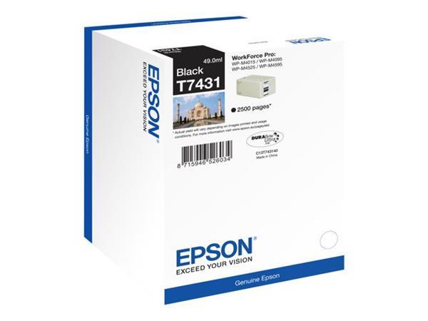 EPSON cartridge T7431 Black