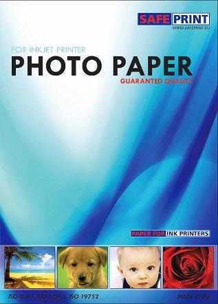 Fotopapír SAFEPRINT pro laser tiskárny Matte 200 g, A4, 10 sheets