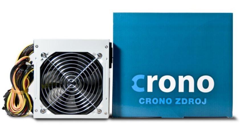 Crono zdroj 350W 80+, 12cm fan, Active PFC, Erp < 0.5W,účinnost > 80%