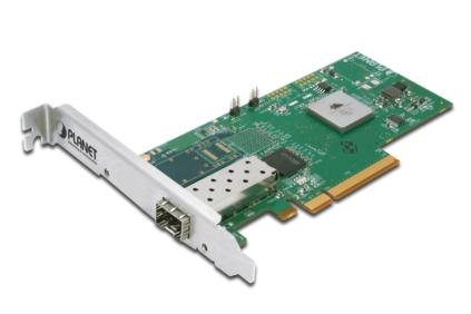PLANET 10 Gigabit Ethernet PCI Express Card, 1x SFP Slot + 1x LC Connector Low P