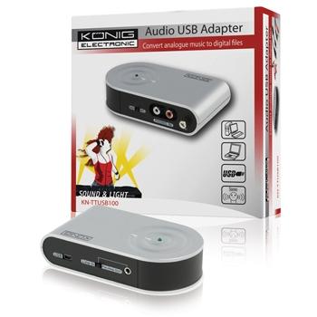 König KN-TTUSB100 - Adaptér USB - audio/gramo