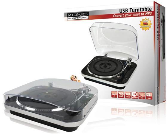 König HAV-TT20USB - USB gramofon