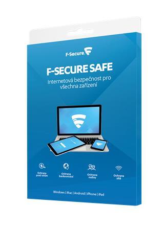 F-Secure SAFE pro 1 zařízení na 1 rok - elektronicky