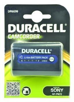 DURACELL Baterie  - DR9599 pro Sony NP-FM70, černá, 2800 mAh, 7.4V