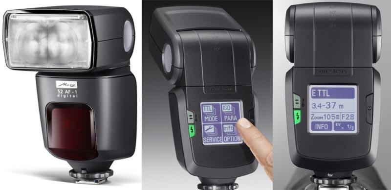 METZ blesk MB 52 AF-1 Digital pro Nikon/Fujifilm