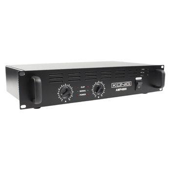 König PA-AMP4800-KN - PA zesilovač 2 x 240W