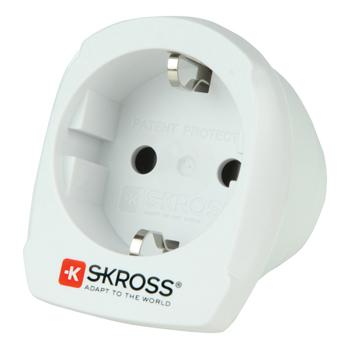 Skross SKR1500209 - Cestovní adaptér Evropa - Austrálie, blistr, bílý
