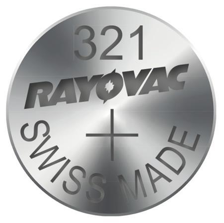 Rayovac 321 (SR616SW, 6.8 x 1.65 mm) - 10 ks, krabička