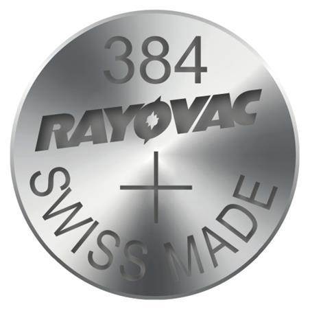 Rayovac 384 (SR736SW, 7.9 x 3.6 mm) - 10 ks, krabička