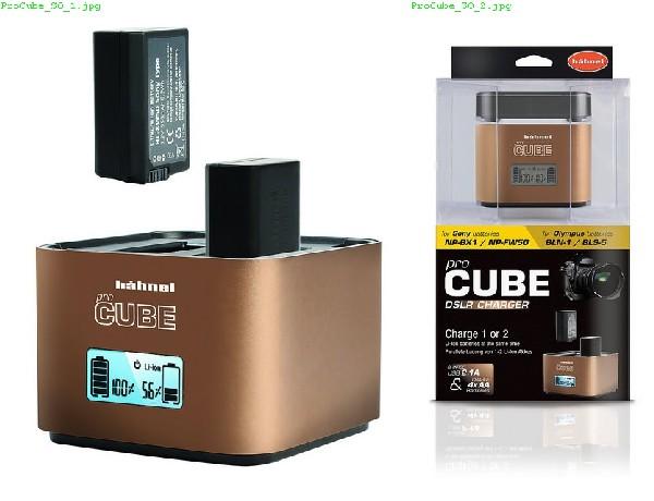 Hähnel proCUBE Sony/Olympus - profi nabíječka Li-ion baterií NP-BX1/NP-FW50 a BL