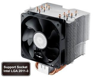 Coolermaster chladič Hyper 612 ver. 2 ,skt. 1155/1156/1366/775/AM2/AM3/FM1.silen
