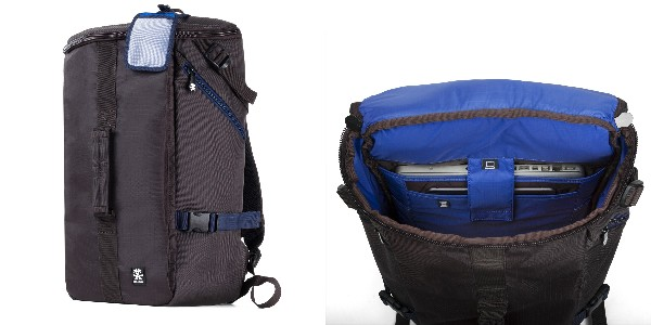 Crumpler Track Jack Barrel Backpack - deep brown