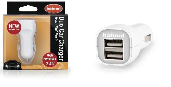 Hähnel Duo Car Charger - nabíječka do auta s 2 USB výstupy