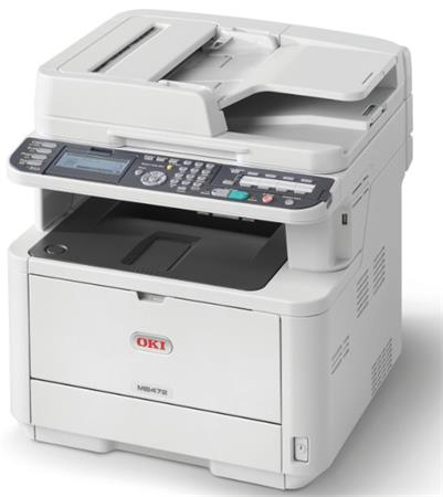OKI MB472dnw A4, 33 ppm 1200x1200 dpi, RADF, PCL6, USB2.0, LAN, WI-FI (Print/Sca