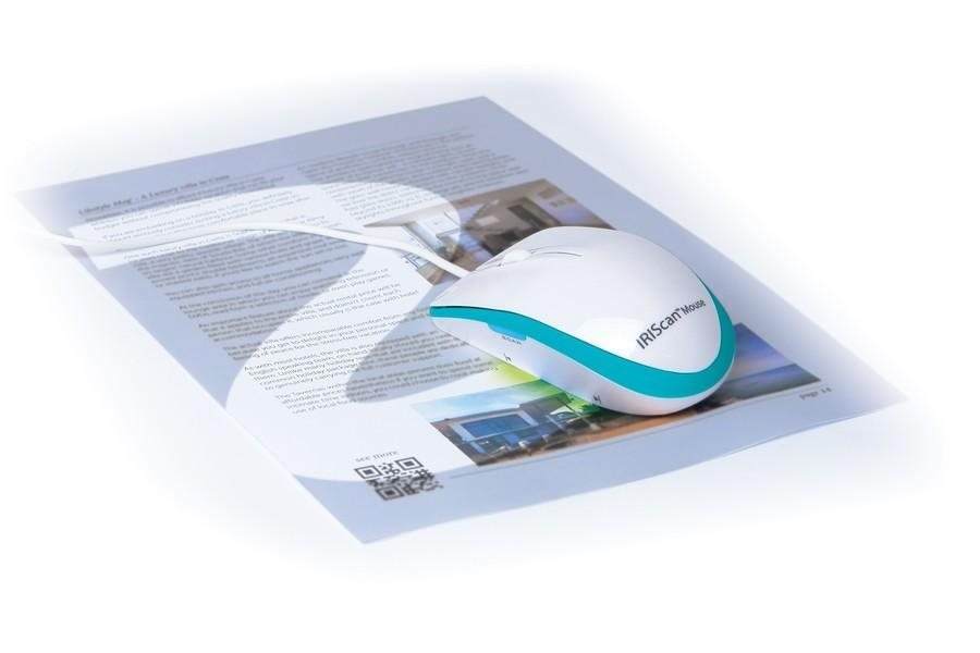 IRIS skener IRISCAN Mouse Executive 2/ bílá/ myš s funkcí skeneru