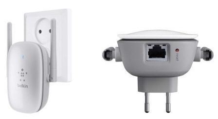 Belkin Dual-Band Wireless Range Extender N600, wall-mount