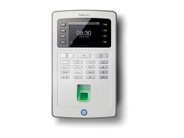 Docházkový systém SAFESCAN TA-8035 Wi-Fi Šedá