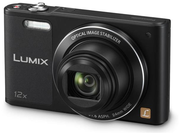 Panasonic DMC-SZ10EP-K, 16Mpx, 12x zoom 24mm, OIS, HD, WiFi, černý