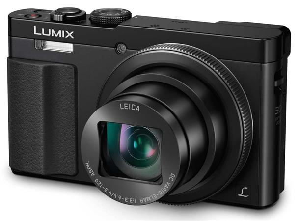 Panasonic DMC-TZ70EP-K, 12 Mpx MOS, 30x zoom 24mm HOIS+, Full HD, WiFi, hledáček
