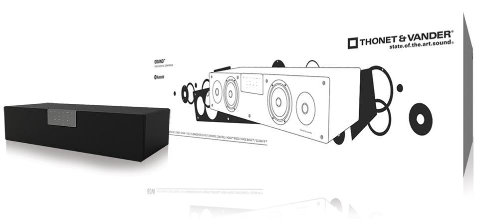Thonet & Vander TH-03551BL - Grund Bluetooth