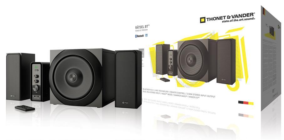 Thonet & Vander TH-03557BL - Ratsel Bluetooth