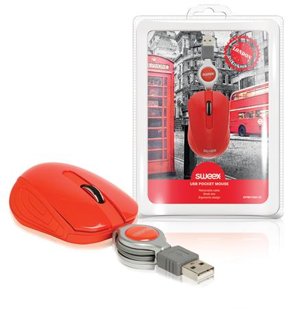 Sweex NPMI1080-03 - Kapesní USB myš London