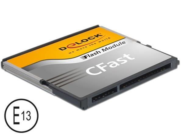 Delock SATA 6 Gb/s CFast Flash Card 64 GB Typ MLC