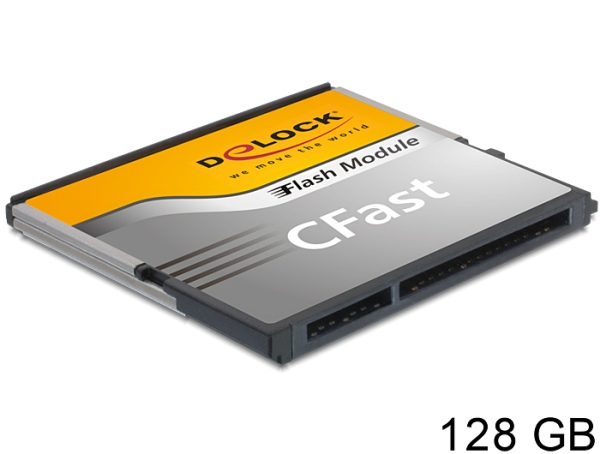 Delock SATA 6 Gb/s CFast Flash Card 128 GB Typ MLC