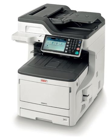 OKI MC873dn A3 35/35 ppm ProQ2400 dpi PCL6/PS3,USB 2.0,LAN (Print/Scan/Copy/Fax)