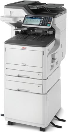 OKI MC873dnct A3 35/35 ppm ProQ2400 dpi PCL6/PS3,USB 2.0,LAN (Print/Scan/Copy/Fa