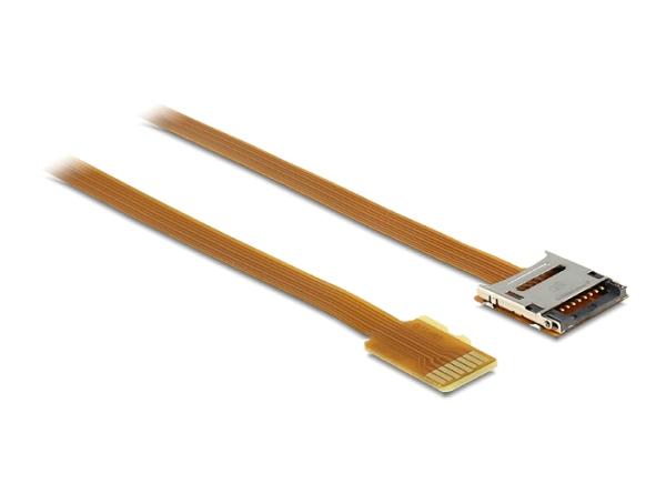 Delock adaptér Micro SD samec > Micro SD samice, prodlužovací 16 cm