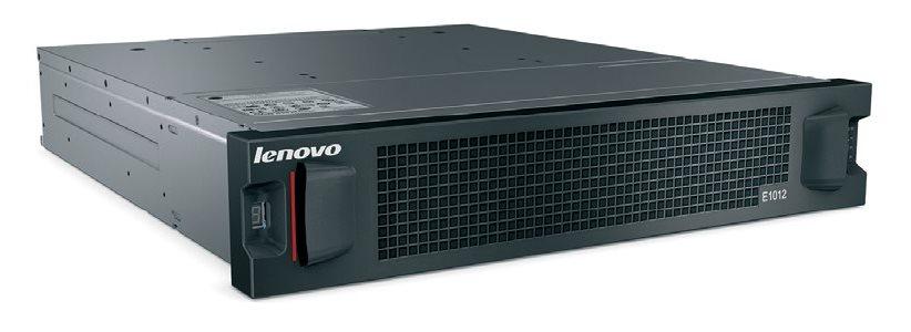 Lenovo Storage E1012 LFF Disk Expansion with Dual SAS IO Modules