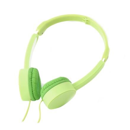 Freestyle sluchátka FH-3920 s mikrofonem zelené