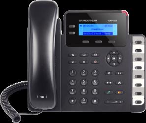 Grandstream GXP1628 [VoIP telefon - 2x SIP účet, HD audio, 3 prog.tl.+8 předvole