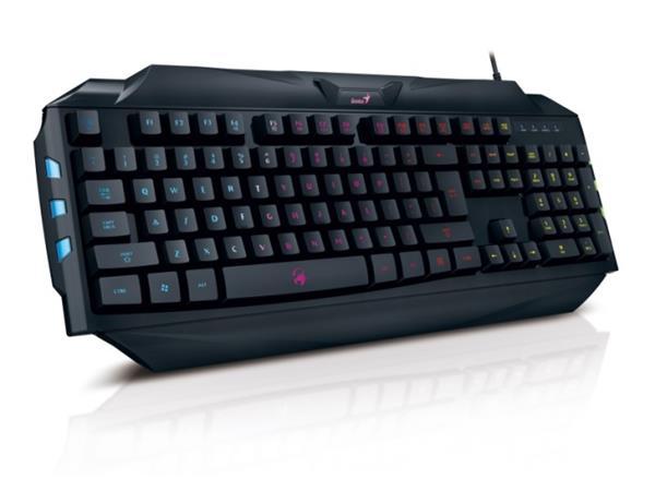 GENIUS GX GAMING Scorpion K5/ Drátová/ USB/ černá/ CZ+SK layout