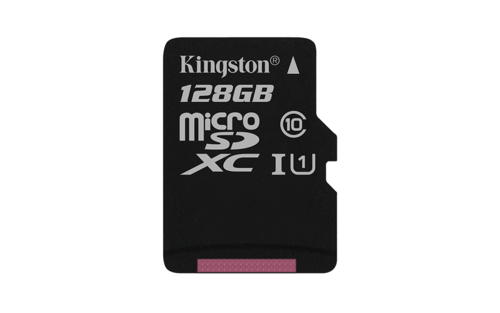 KINGSTON 128GB microSDXC Memory Card 45MB/10MBs- UHS-I class 10 Gen 2 - bez adap
