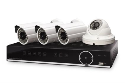 Digitus AHD Zabezpečovací souprava ( sítový video rekordér, 3 venkovní kamery, 1