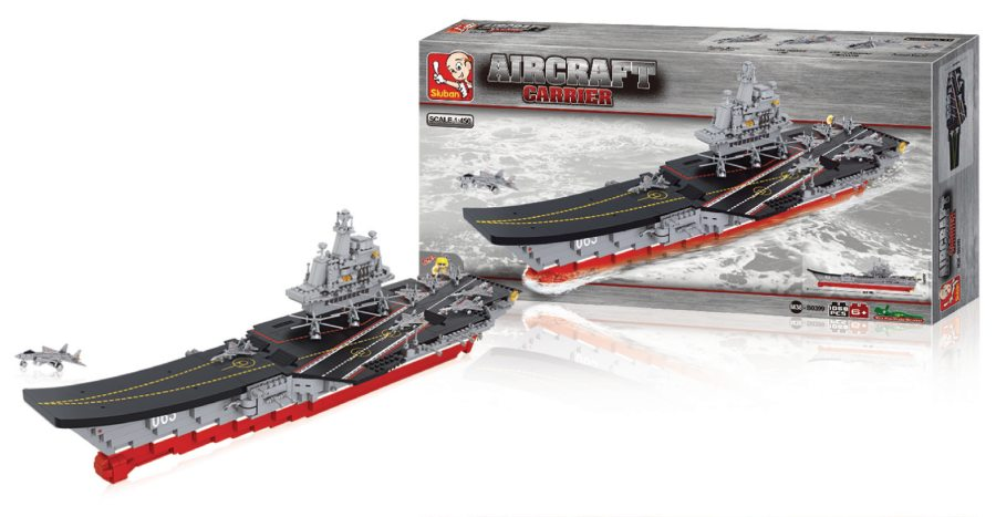 Sluban M38-B0399 - Aircraft Carrier