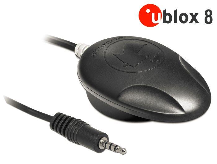 Navilock NL-8008T Stereo Jack TRRS TTL Multi GNSS přijímač u-blox 8 1.5 m