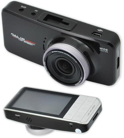 "CEL-TEC E08s GPS - palubní kamera do auta 1080p, microSD/SDHC, WDR, 2.7"" LCD, če"