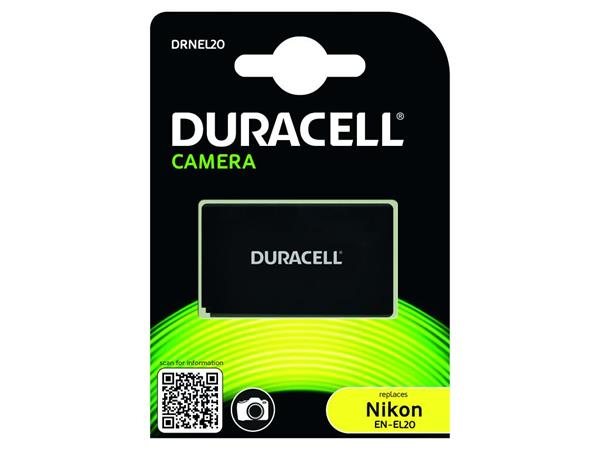 DURACELL Baterie - Baterie do fotoaparátu nahrazuje Nikon EN-EL20 7,4V 800mAh