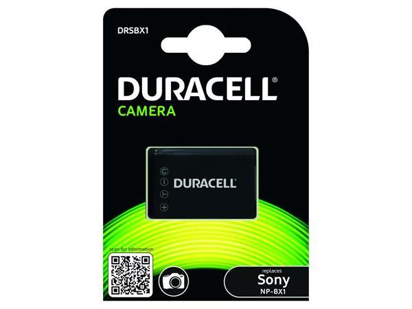 DURACELL Baterie - Baterie do digitálního fotoaparátu nahrazuje Sony NP-BX1 3,7V