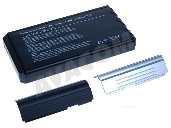 Náhradní baterie AVACOM Dell Inspiron 1000/1200/2200, Latitude 110L, Li-Ion 14,8