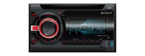 SONY WX-800UI - 2 DIN autorádio s CD/MP3 přehrávačem, výkon 4x55W, vstup USB a A