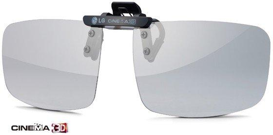 LG AG-F420 polarizační Cinema 3D klip na brýle