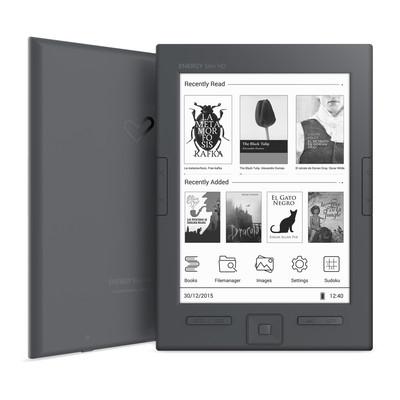 "ENERGY eReader Slim HD (6"" HD e-ink Carta 758x1024, 16 odstínů šedi, 8GB, podpor"
